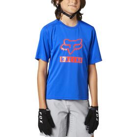 Fox Ranger SS Jersey Youth, azul